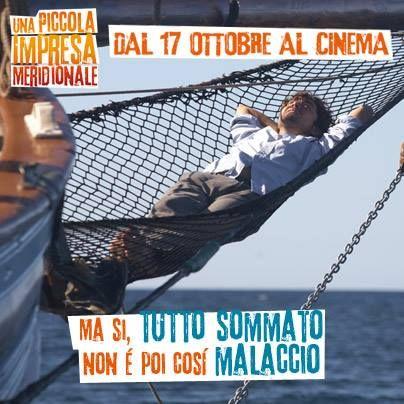 Ma si, tutto sommato non è poi così malaccio! #UnaPiccolaImpresaMeridionale #WarnerComedy #CinemaItaliano #RoccoPapaleo #RiccardoScamarcio