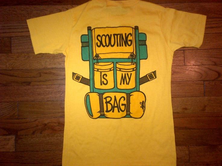vtg Girl Scouts shirt scouting is my bag S par bombsquad206 sur Etsy, $15,00