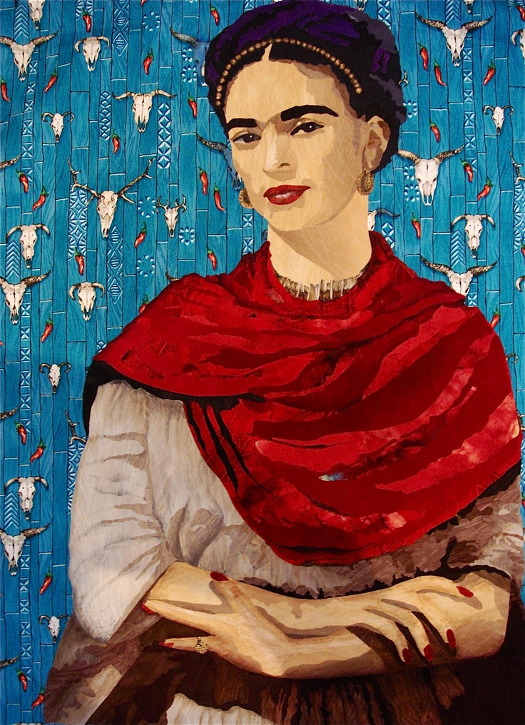 Frida Quilt. Pam Holland