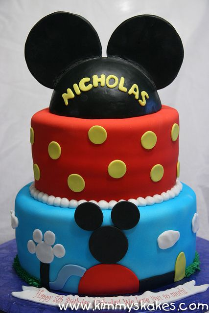 Mickey Clubhouse by Kimmy's Kakes,