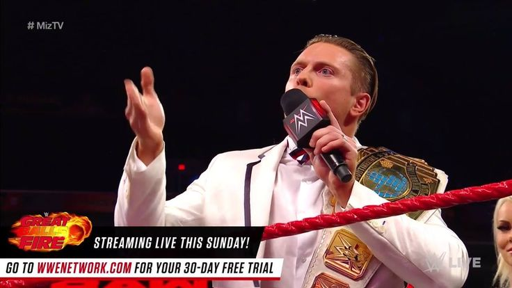 The Miz will defend his Intercontinental Championship against Heath Slater RIGHT NOW on WWE Raw! Oh it's true... IT'S DAMN TRUE!!!