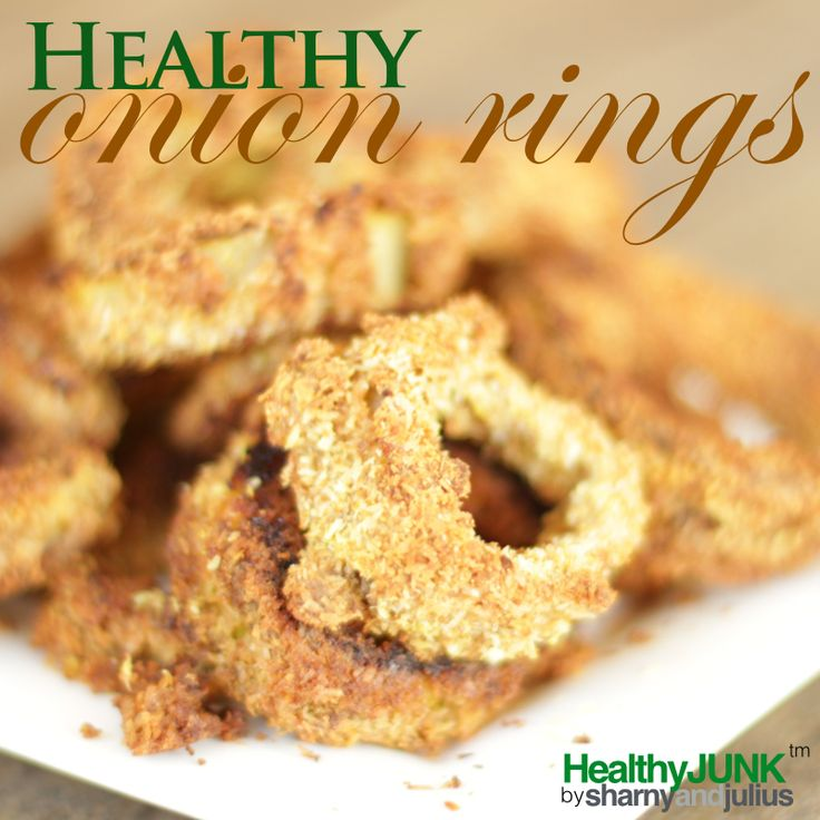 Healthy Onion Rings Recipe | Sharny and Julius