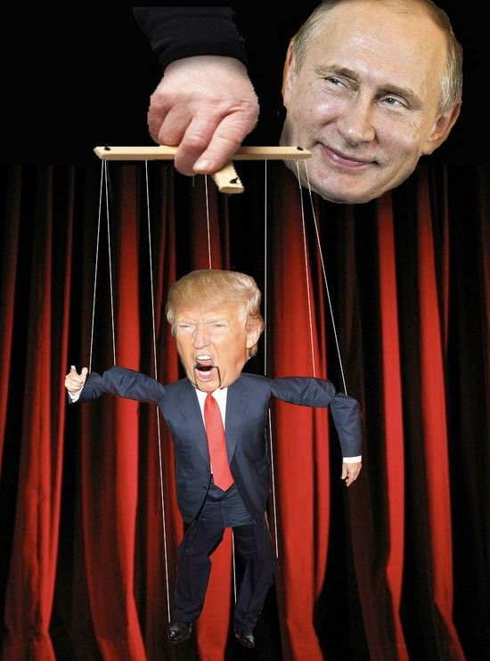 Image result for trump puppeteer
