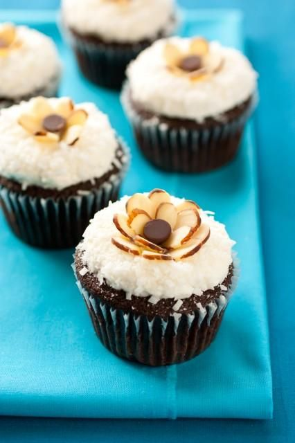 Cupcake recipes, Coconut frosting and Chocolate cupcakes on Pinterest