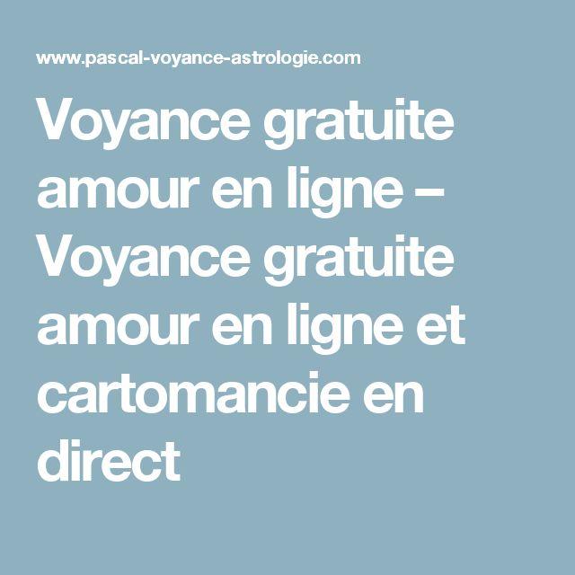 Voyance gratuite amour en ligne – Voyance gratuite amour en ligne et cartomancie en direct