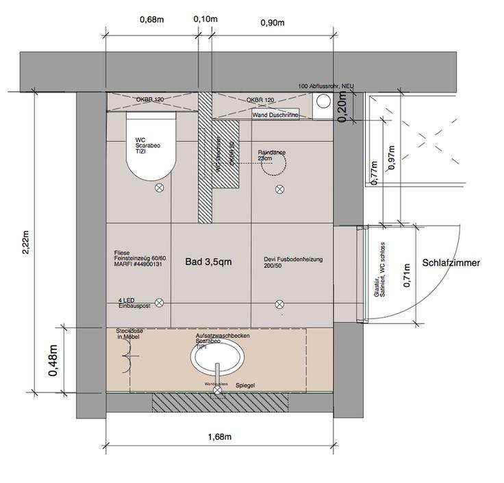 stylingroom Bettina Wittenberg Innenarchitektur & Styling - Bad 3,5qm