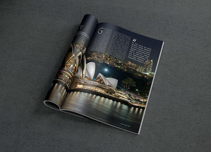 Photorealistic Magazine MockUp #2 | GraphicBurger