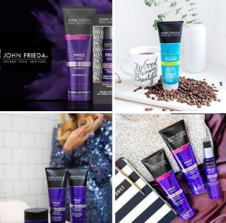 John Frieda is offering Free Samples from their Frizz Ease collection!  Choose up to 2 samples from the following: Frizz Ease Dream Curls Frizz Ease Forever Smooth Frizz Ease Miraculous Recovery