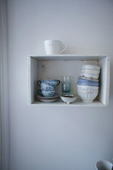 Kitchen details, interior styling via www.maisonlapin.nl