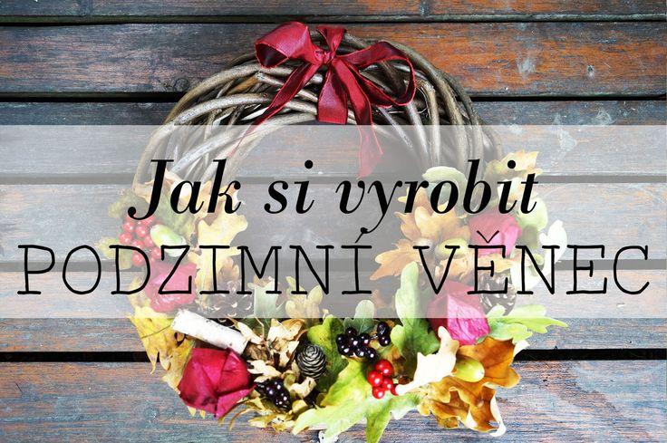 DIY - Podzimní věnec
