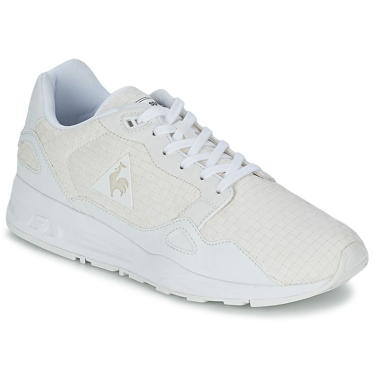 baskets basses le coq sportif lcs r900 woven blanc prix promo baskets femme spartoo. Black Bedroom Furniture Sets. Home Design Ideas