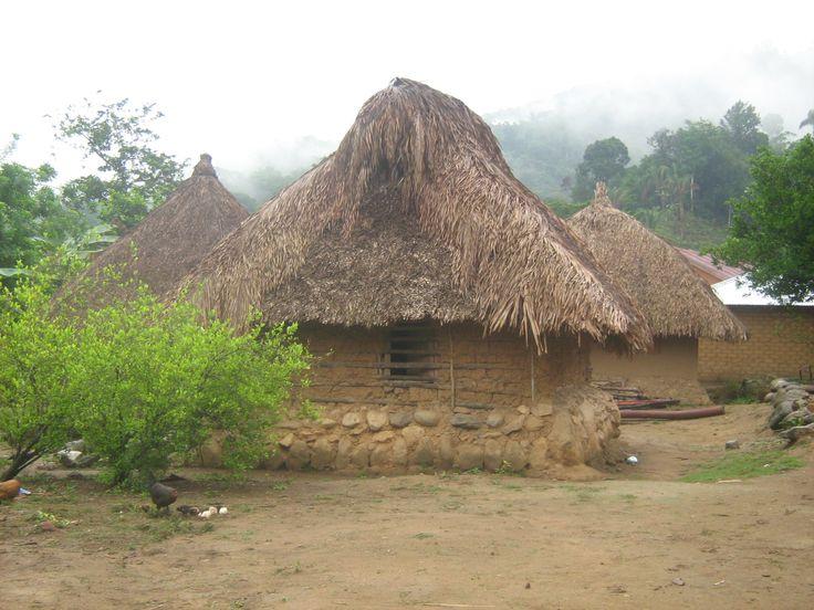 Comunidad indígena Arhuaca de Bunkwimake, Sierra Nevada de ...
