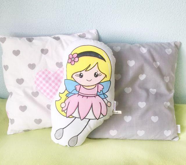 Minadori Art Filc Felt Feltro: Poduszki wrózki/ Pillows with faires
