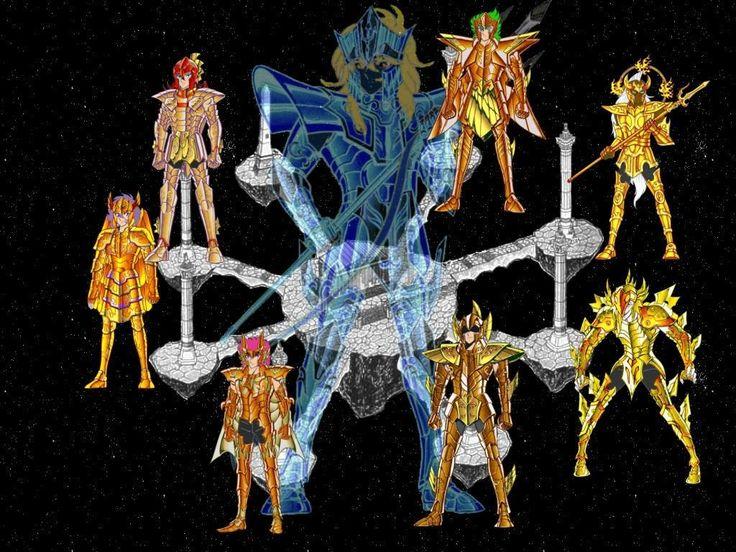 Saint Seiya , saga Poseidon