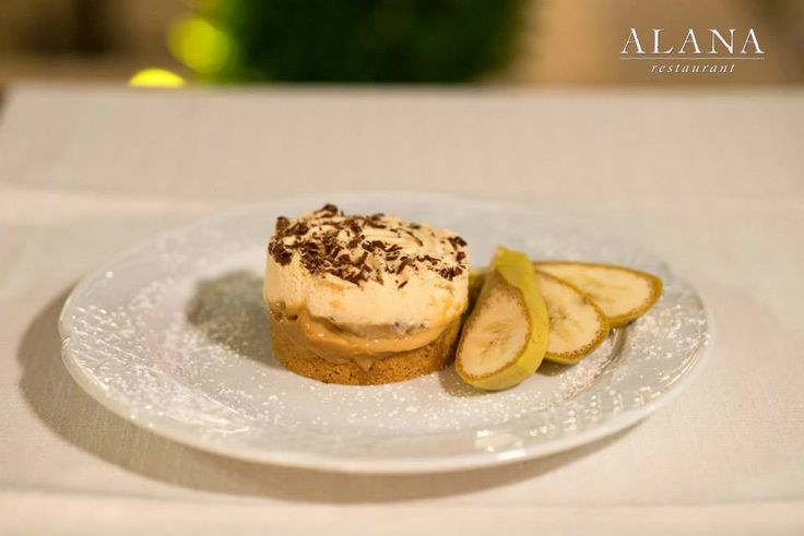 Creamy Banoffee Pie at #AlanaRestaurant #AlanaMenu