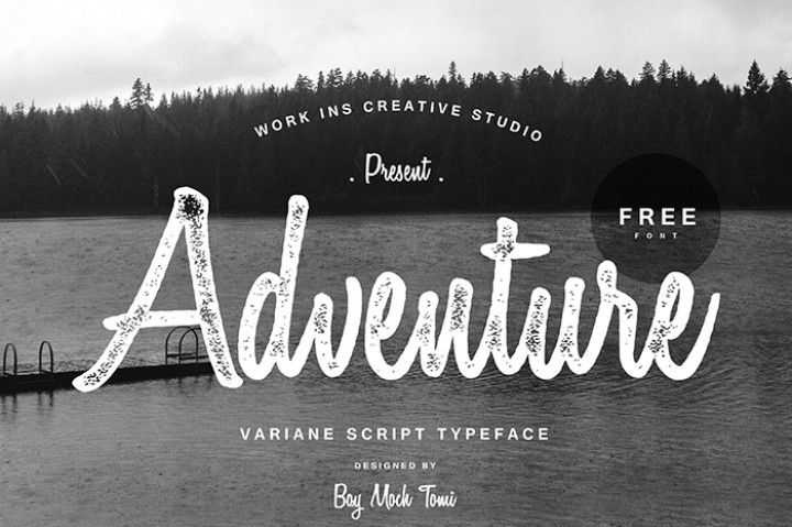 Download this amazing Varianne Script typeface byBoy Moch Tomi completely FREE!! Use it for any project you want personal or commercial.