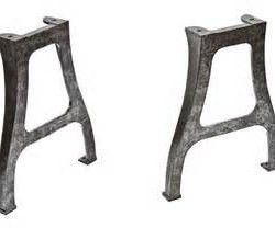 Source New York NY industrial machine cast iron table legs on m.alibaba.com