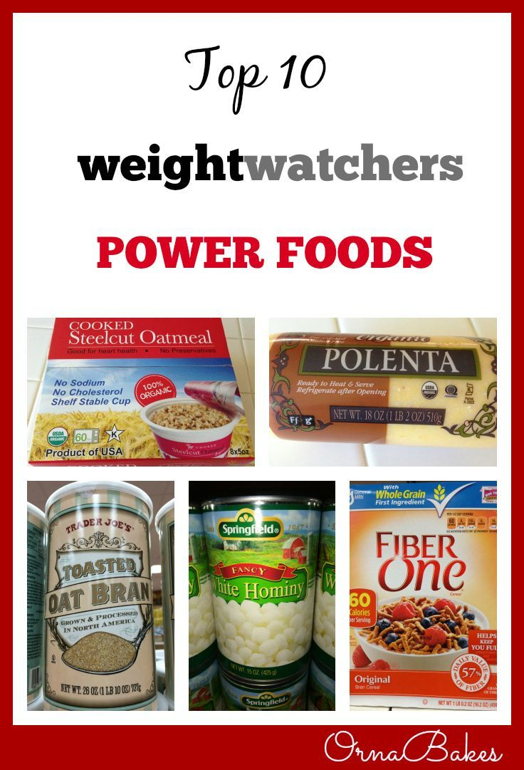 Top 10 Weight Watchers Power Foods - OrnaBakes