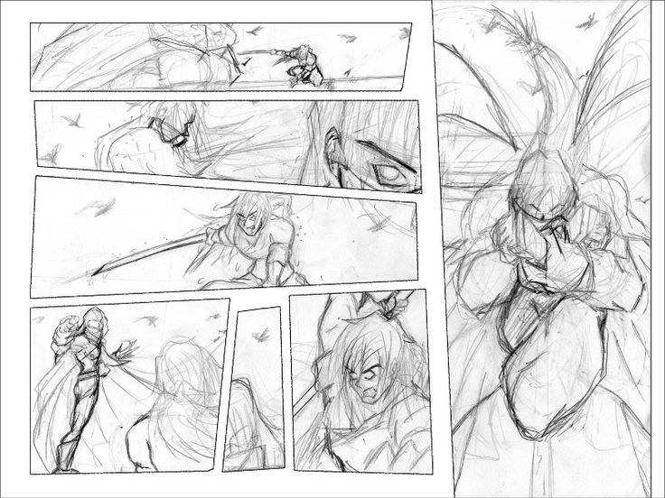 Best Comic Page Layout Images On   Comic Artist
