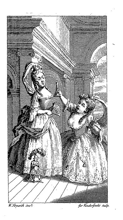Frontispiece of Fielding's 'The tragedy of tragedies' by @artisthogarth #rococo