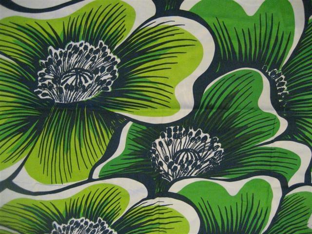 Tampella fabric Kamelia by Marjatta Metsovaara