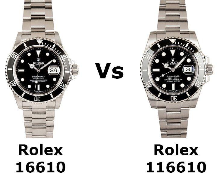 Rolex 16610 vs. 116610 Review
