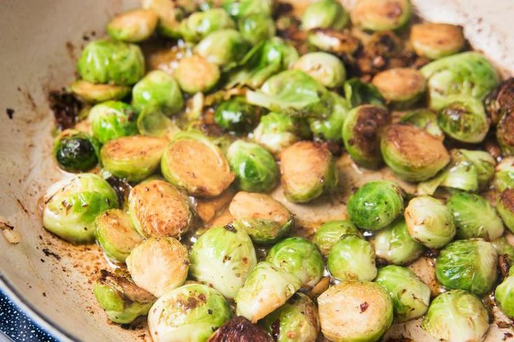 Give an underrated vegetable the attention it deserves! This Garlic Sautéed Brussels Sprouts recipe keeps things simple with one main ingredient.