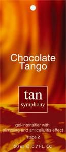 Гель-активатор загара Chokolate Tango 2-я фаза, 20 саше по 20 мл, Tan Symphony