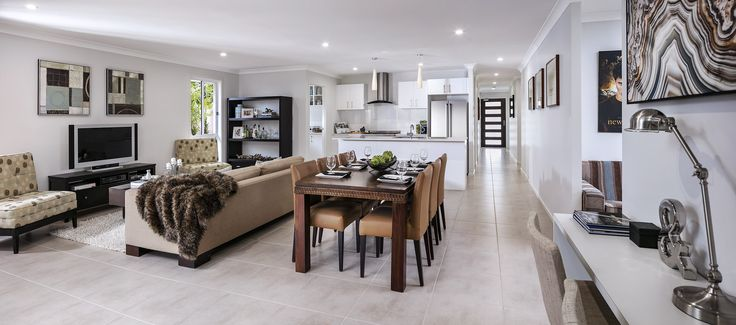 The Oak - Living   http://www.newlivinghomes.com.au/display-homes/ #newlivinghomes #inspiration #design #home