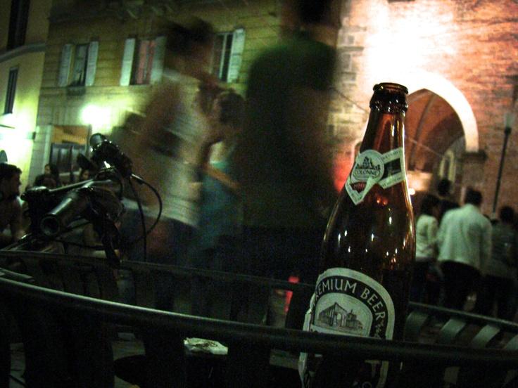 Colonne Silent Party   Birra Colonne San Lorenzo   Milano