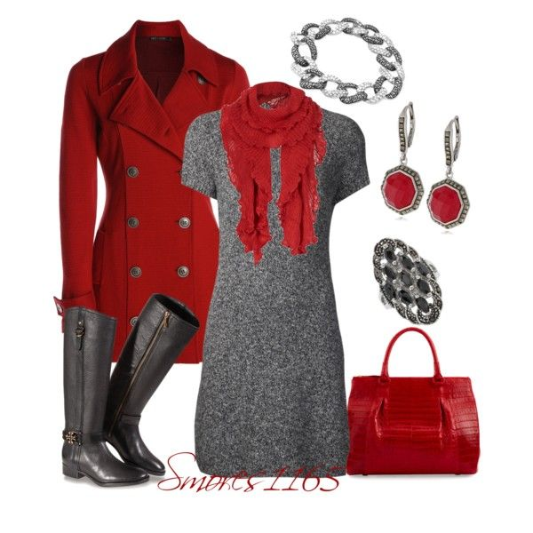 """Simply Red"" by smores1165 on Polyvore"