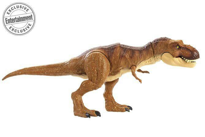 Jurassic World Toys TREX Toy Kids Gift Thrash/'N Throw Tyrannosaurus Rex Figure