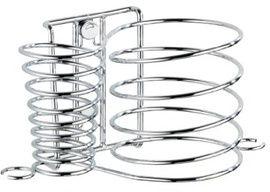 Wenko 20648100 Milano - Soporte para secador y plancha de pelo