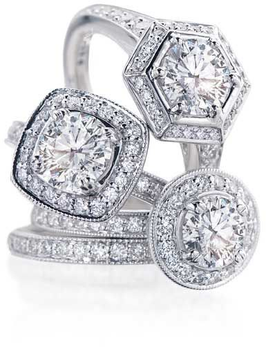 same-sex wedding and engagement diamond and metal rings available at Ritani / read our buying guide on equallywed.com