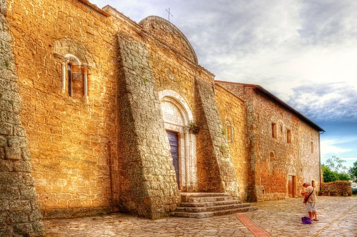 Duomo SS Pietro e Paolo - Toscana Sovana GR   #TuscanyAgriturismoGiratola