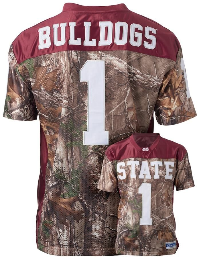 NCAA Men's Mississippi State Bulldogs Game Day Realtree Camo Jersey