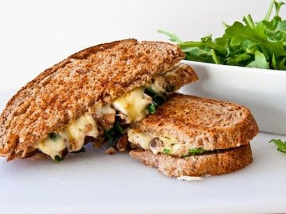 Jarlsberg Grilled Cheese with Arugula and Truffle Oil | Tasty Kitchen: A Happy Recipe Community!