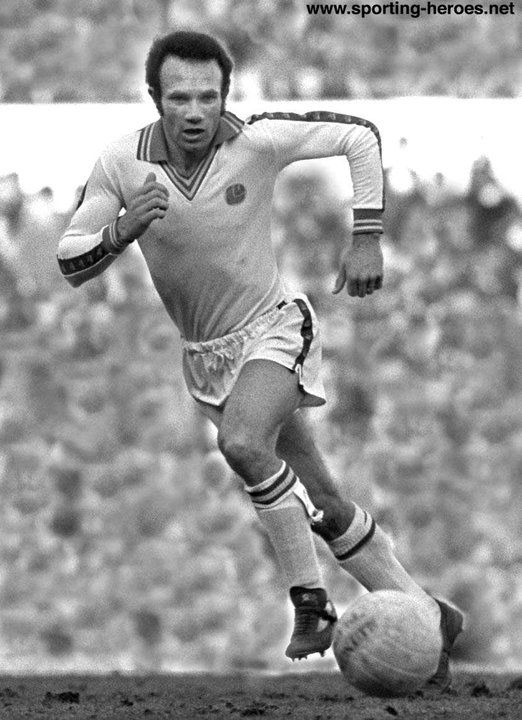 Paul Reaney - Leeds United. Partnered with Terry Cooper gave Leeds United (2) awesome Full Backs during the Don Revie managed team of the '70's