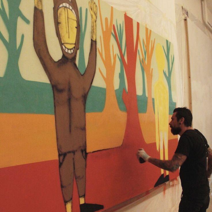 #tonygalloart #art#streetart#arte#artemoderna#streetandartandgraffiti #urbanart#urbanstreetart#999contemporary#streetphotography #newyork #nyc #newyorkcity #sprayart #urban #urbanart #urbanwalls #wall #wallporn #graffitiigers #graffiti #instagraffiti #instagood #artwork #mural #graffitiporn #photooftheday #stencil #streetart