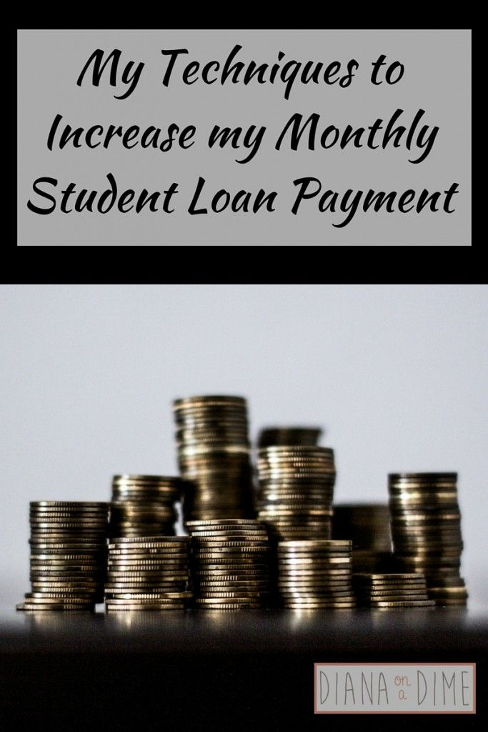 My Techniques to Increase my Monthly Student Loan Payment - Finding out my monthly student loan payment was eye opening. I was completely shocked. $1,400/month for JUST my private loans, not even my federal loans. How was I going to afford this?! Especially when my federal loans were out of the grace period, which hasn't even happened yet.