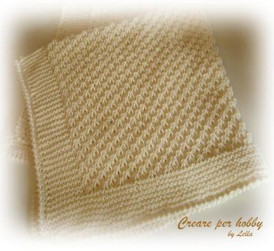 16 best copertine neonato images on pinterest | baby knitting ... - Copertine Lettino Neonato Ai Ferri