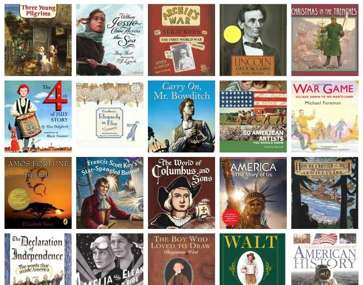 American History 1492-Present This list could have been 1,000+ books long. So