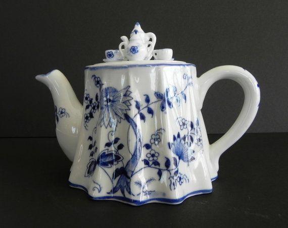 Vienna Woods Teapot Miniature Tea Set on by TheCherishedElement, $18.95