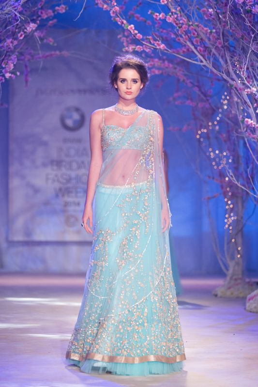 Lengha by Jyotsna Tiwari at India Bridal Fashion Week 2014