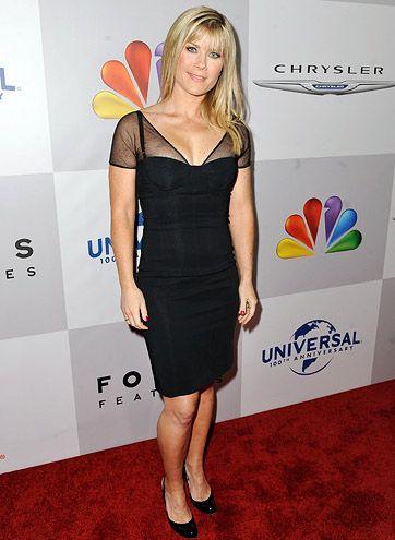 """Alison Sweeney...the """"little  black dress"""""""