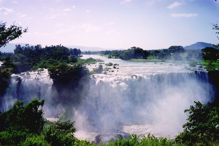 Tissisat Falls on the Blue Nile - Blue Nile Falls. Photo by ctsnow