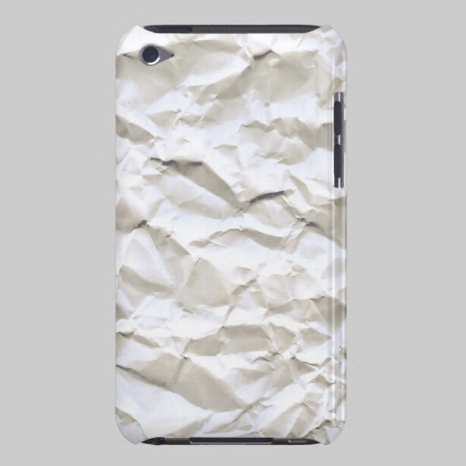 White Trash (crumpled paper texture) iPod Touch Covers $39.95