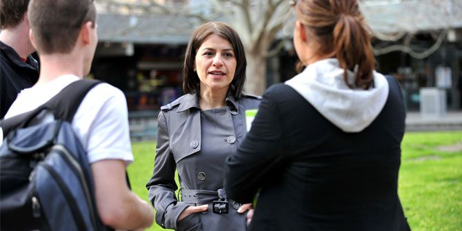 New Labor Minister for Youth Affairs Jenny Mikakos