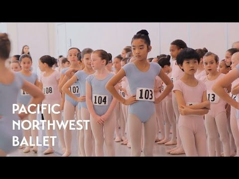Young Dancers Audition for Nutcracker (Pacific Northwest Ballet) - YouTube