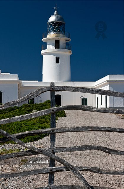 Cavalleria Lighthouse Menorca. Balearic Islands, Spain